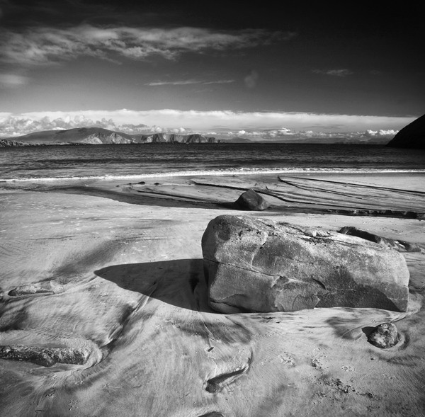 Fine Art Monochrome Of Keem Beach, Achill Island, Co. Mayo, Ireland.