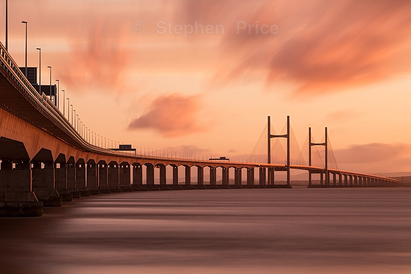 Second Severn Crossing - Photographs of City Scenes