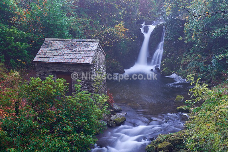 Rydal Hall Waterfall | Lake District Waterfall Photography by Nickscape