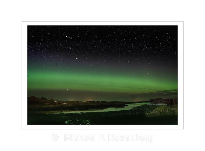 Aurora Borealis , Lochmaddy, North Uist Scotland - Scotland, UK