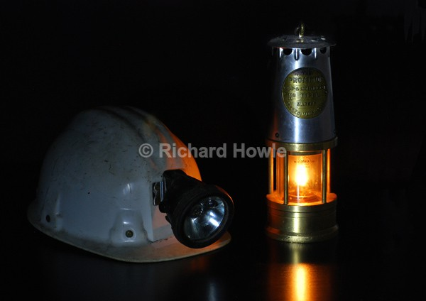 Miners Lamp - Potteries Images