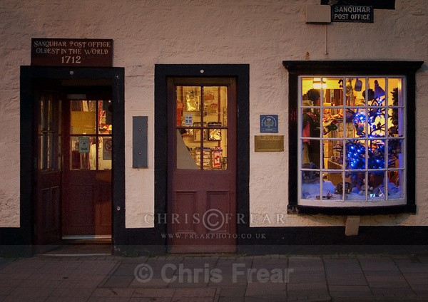 Sanquhar Post Office - Small Shops