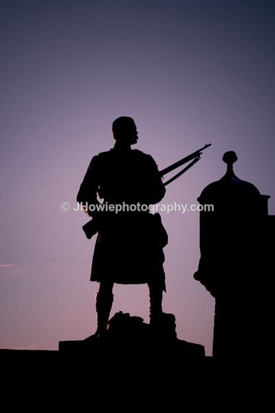 memorial Silhouette - Stirling