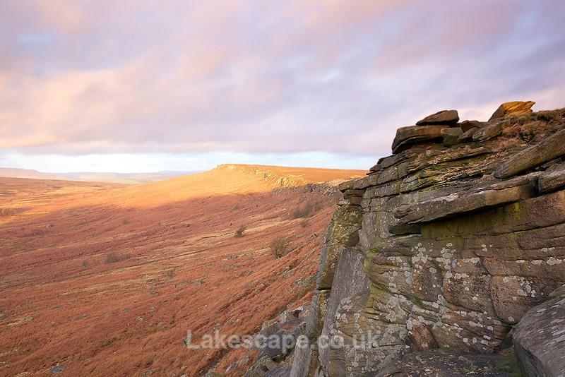 Autumn Sunrise, Stanage Edge_2585 - The Peak District