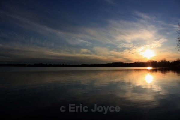 Rock Lake Sunset - SW Minnesota