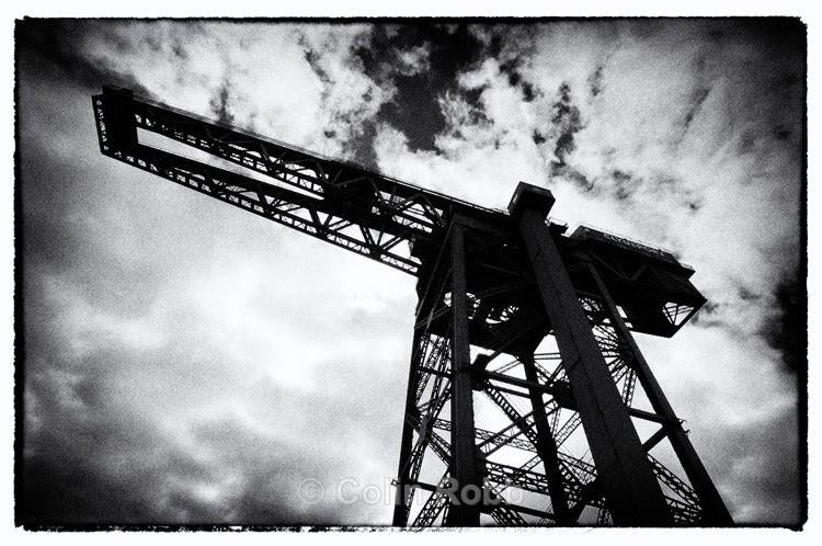 Finnieston Crane | Glasgow | photograph by Colin Robb