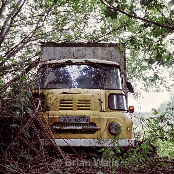 Yellow Van - Transport and Machinery