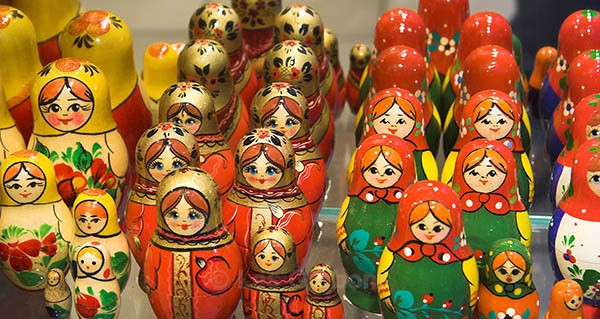 Russian dolls - Prague