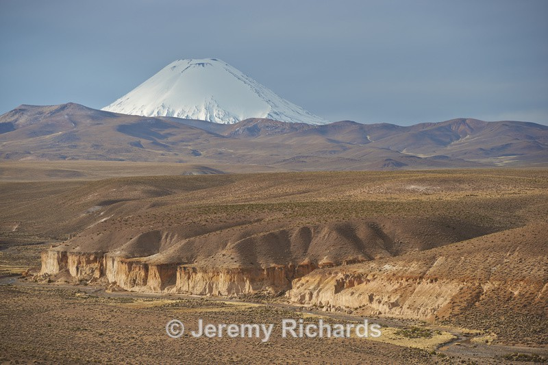 Volcano on the Altiplano - Altiplano of North-East Chile
