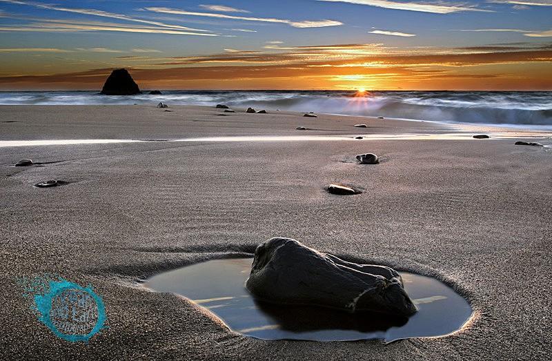 Blackrock Sunset - Seascapes
