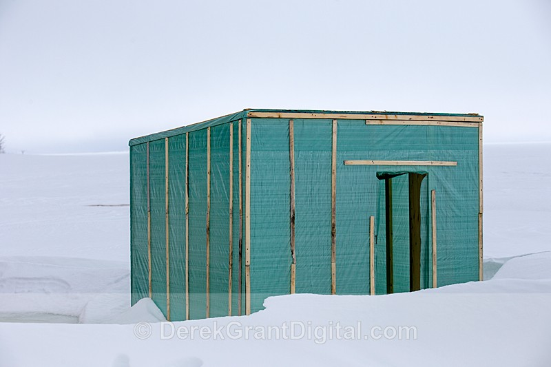 Cameron Road Ice Hut - Rothesay New Brunswick Canada - Ice Shacks