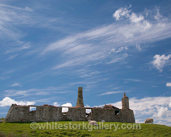 Old Ruins, Uist - Scottish Highlands