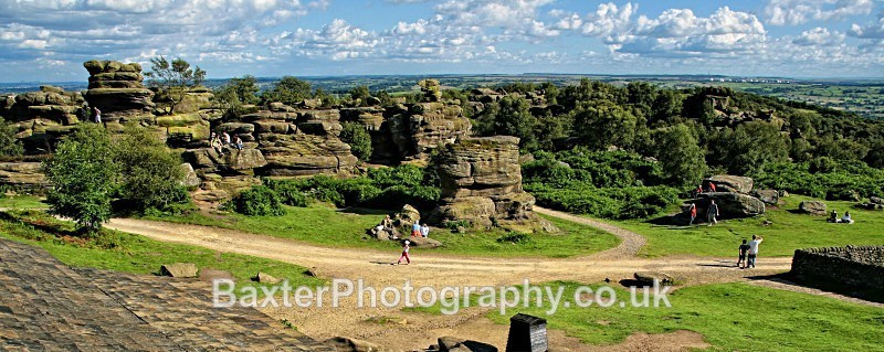 Wide Dominion - Brimham Rocks and  Bolton Abbey
