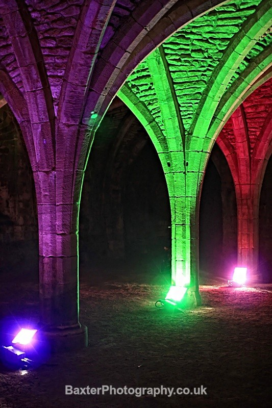Painted Arches (1) - Fountains Abbey