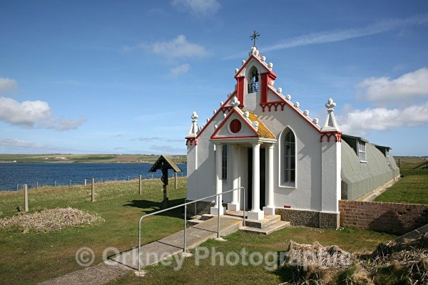 The Italian Chapel - Orkney Landscapes