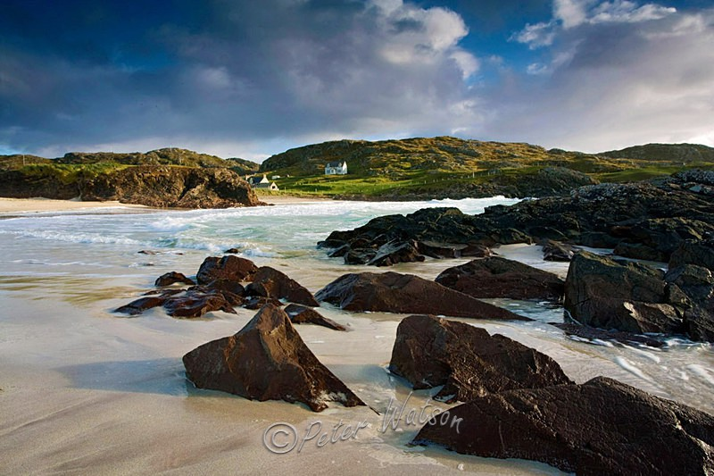 Clachtoll Bay Sutherland - Scotland