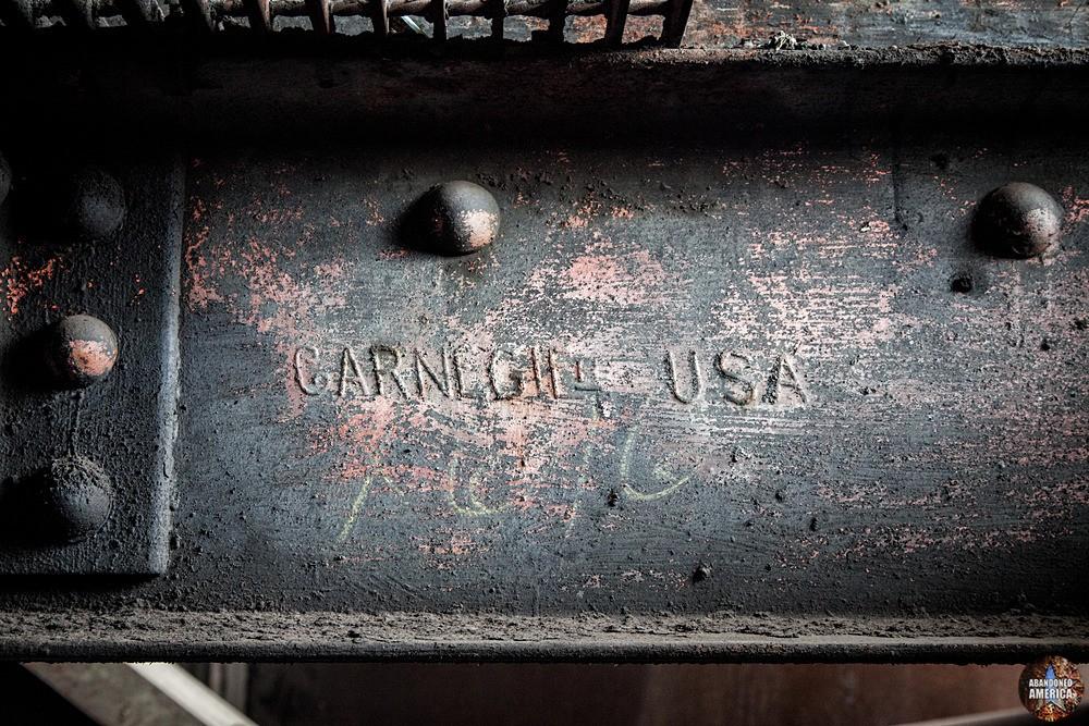 St. Nicholas Coal Breaker (Mahanoy City, PA) | Carnegie Steel Beam - St. Nicholas Breaker