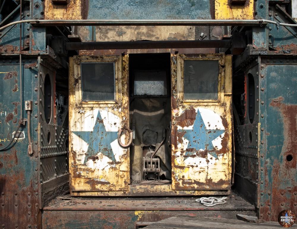 Bethlehem Steel (Bethlehem, PA) | Wellman Charging Machine - Bethlehem Steel