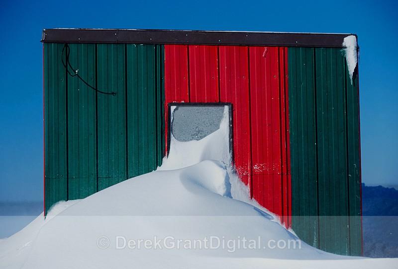 Renforth Ice Shack Rothesay, NB Canada - Ice Shacks