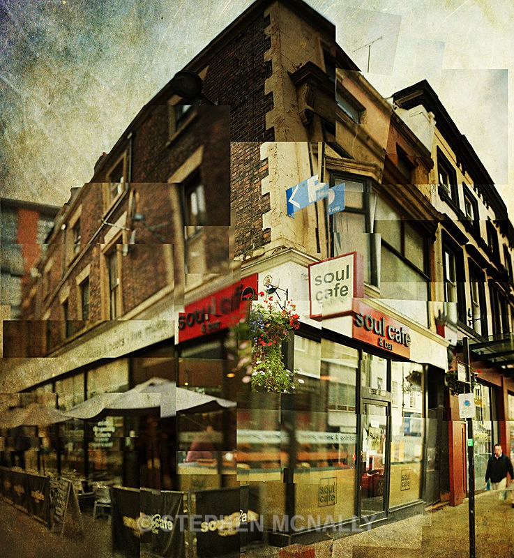 Soul Cafe - Photographic Cubism