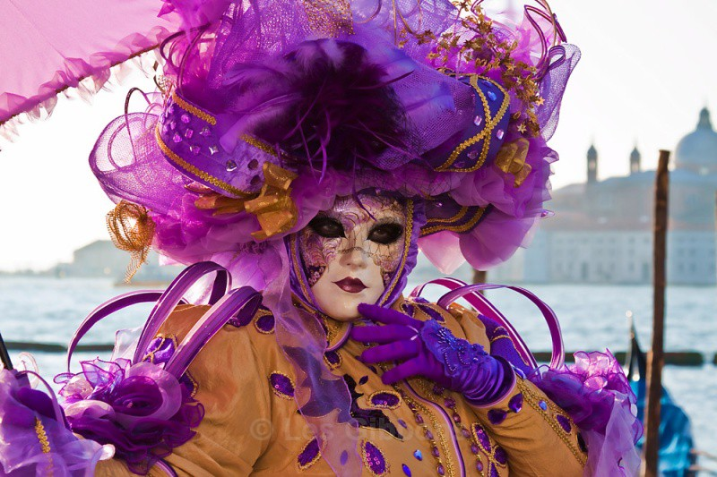 Purple and gold2 - Venice