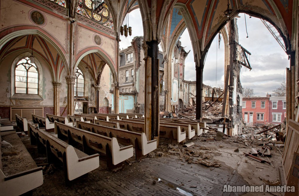 St Bonaventure Church (Philadelphia, PA) | Dismantled - St. Bonaventure Roman Catholic Church