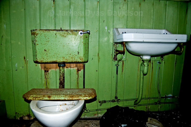 Old Schoolhouse toilet - Cabrach