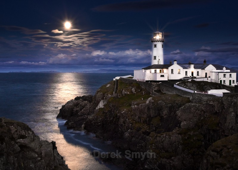 Fanad By Moon Light - Fanad Lighthouse