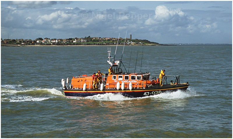 Passing the Naze - Lifeboats
