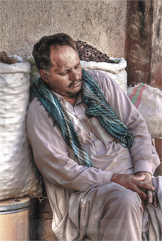Sleeping Worker - Dubai UAE
