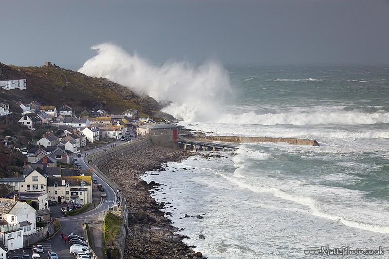 Sennen Storm - Cornwall - West Coast