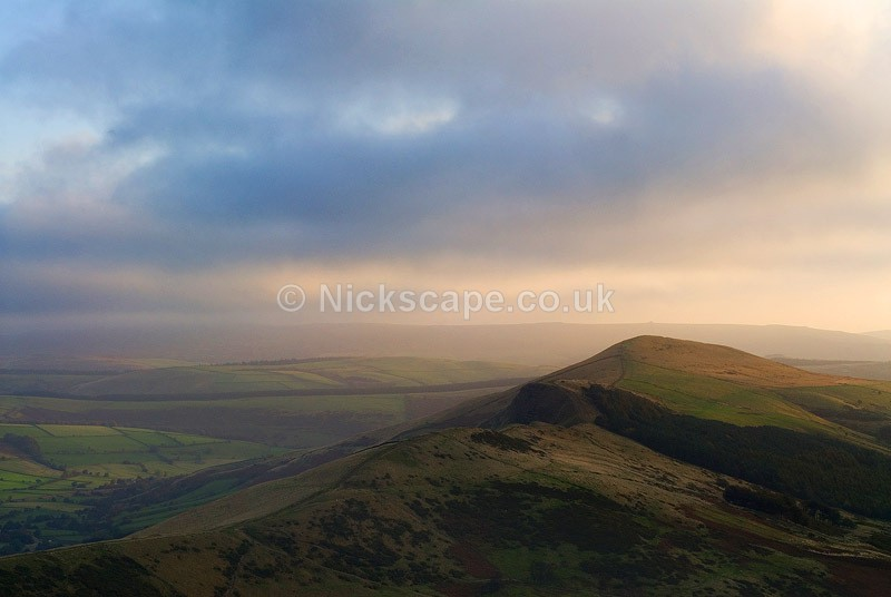 The Great Ridge of Edale at dawn | Gallery  | Peak Photos