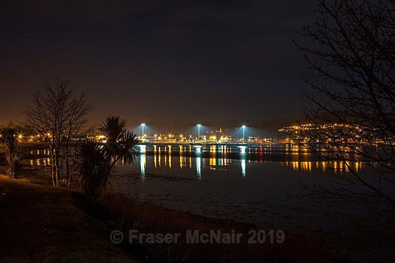 Campbeltown New Quay - Night Photography