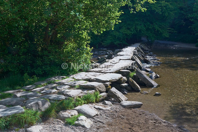 Photo of Tarr Steps in Summer   Exmoor Landscape Photography