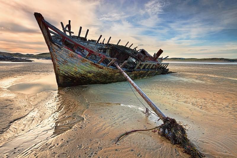 Bunbeg Shipwreck - Eddie's Boat