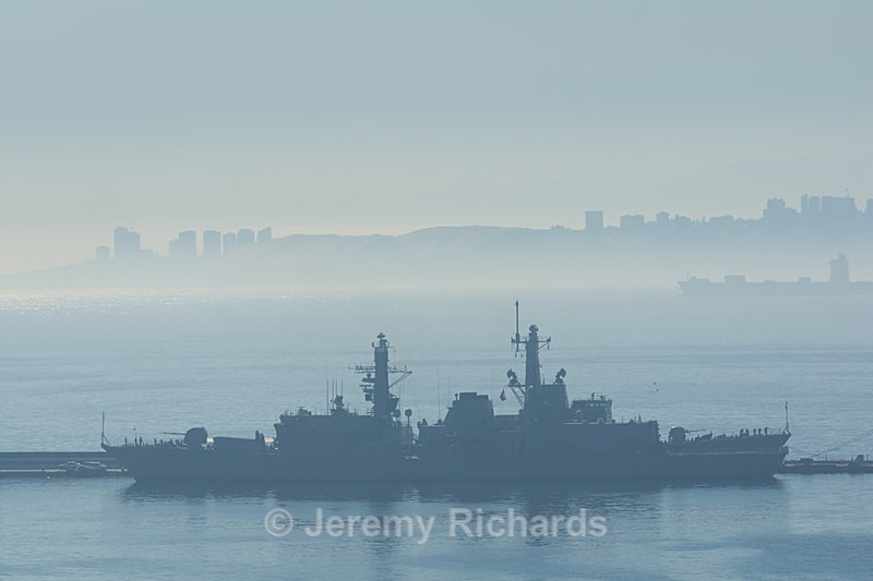Ships in the Mist - Coastal Chile