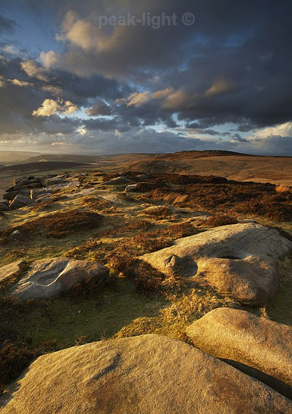 Light on the Tor - Peak District