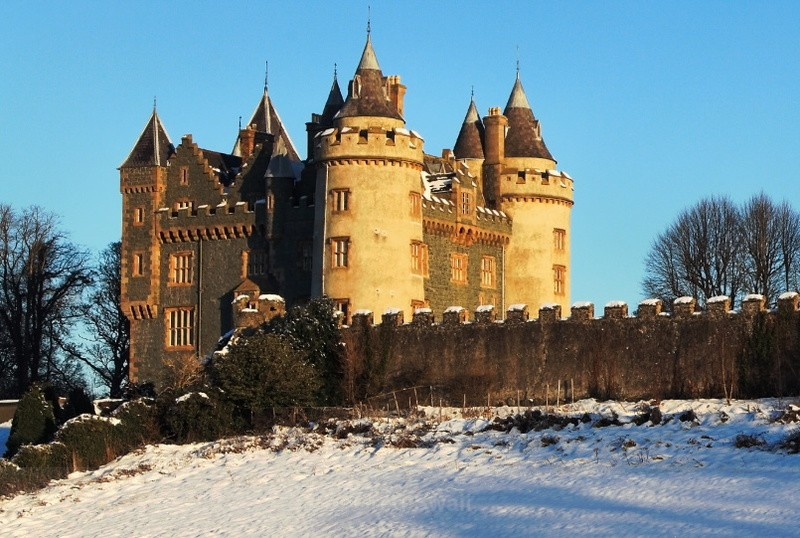Morning Light on Killyleagh Castle - Killyleagh and Delamont