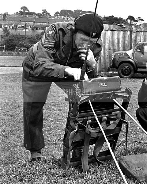 Larkhall Gala Day 1958 Demo by Military Radio Operator - Archive.