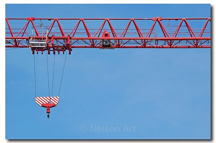 Construction Crane - Machines