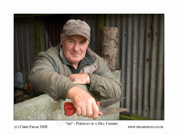 Portrait of a Hill Farmer - People Portraits