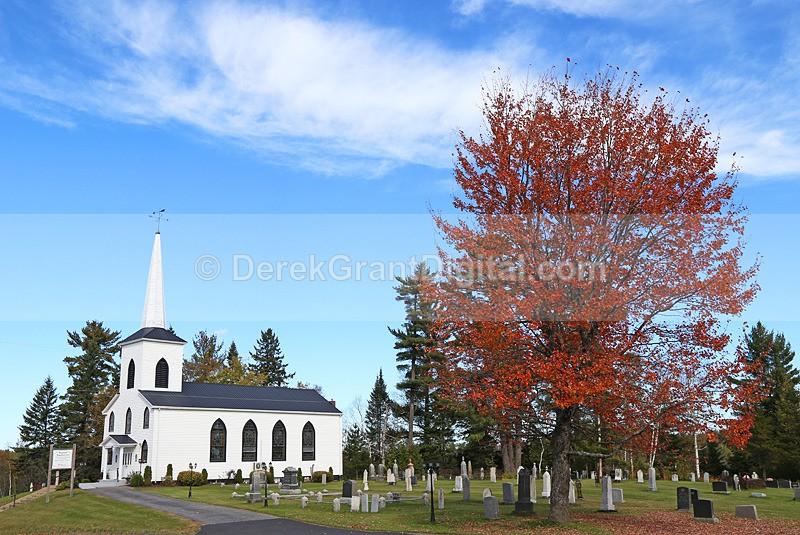 St. Andrews United Church Blackville, New Brunswick, Canada - Churches of New Brunswick