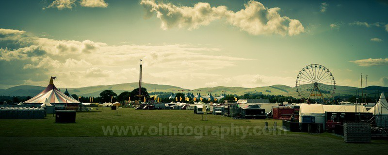 T in the Park 2010 (build up) - The outdoors