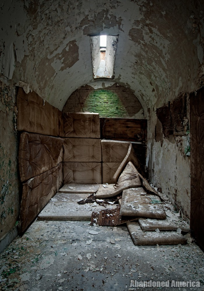 Padded cell, Holmesburg Prison, Philadelphia PA | Abandoned America by Matthew Christopher