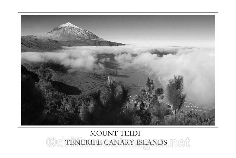 Tenerife peak and view 2 - Tenerife Mount Teidi