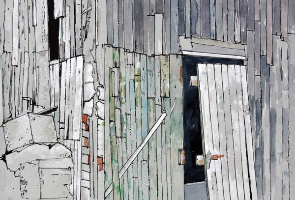 White Door, Fittie. - David Pettigrew D.A.