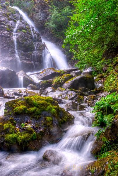 South Fork Waterfalls - Waterworks