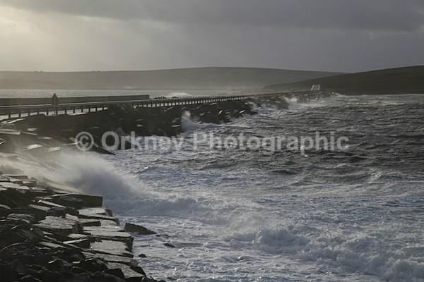 Orkney Barrier weather 6425 - Orkney Images