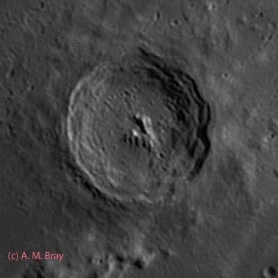 Eratosthenes - Moon: Central Region