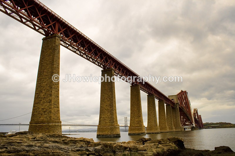 forth rail bridge another angle - Bridges of Scotland